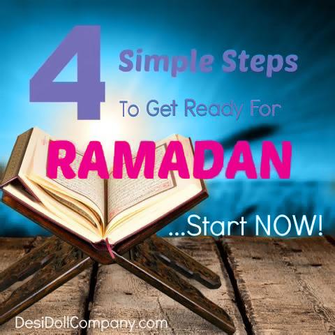 4 Tips to Becoming Ramadan Ready