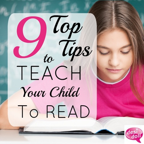 9 Top Tips to Teach Your Child to Read