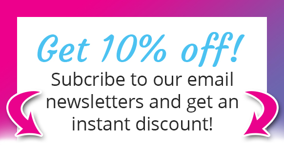Instant 10% off!