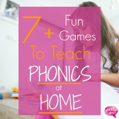 7+ Fun Games to Teach Phonics at Home!